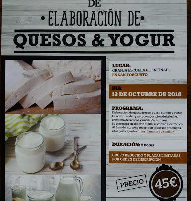 Curso de elaboración de queso y yogurt